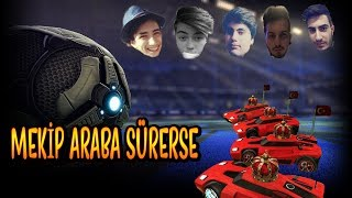 3 IQ ARABA SÜRME ÇELINÇ EFSANE KOMİK!! (Rocket League)