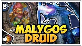 Hearthstone: Legend New Malygos Druid - Rise Of Shadows
