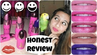 Jeffree Star Lip Ammunition Review + Swatches + First Impressions