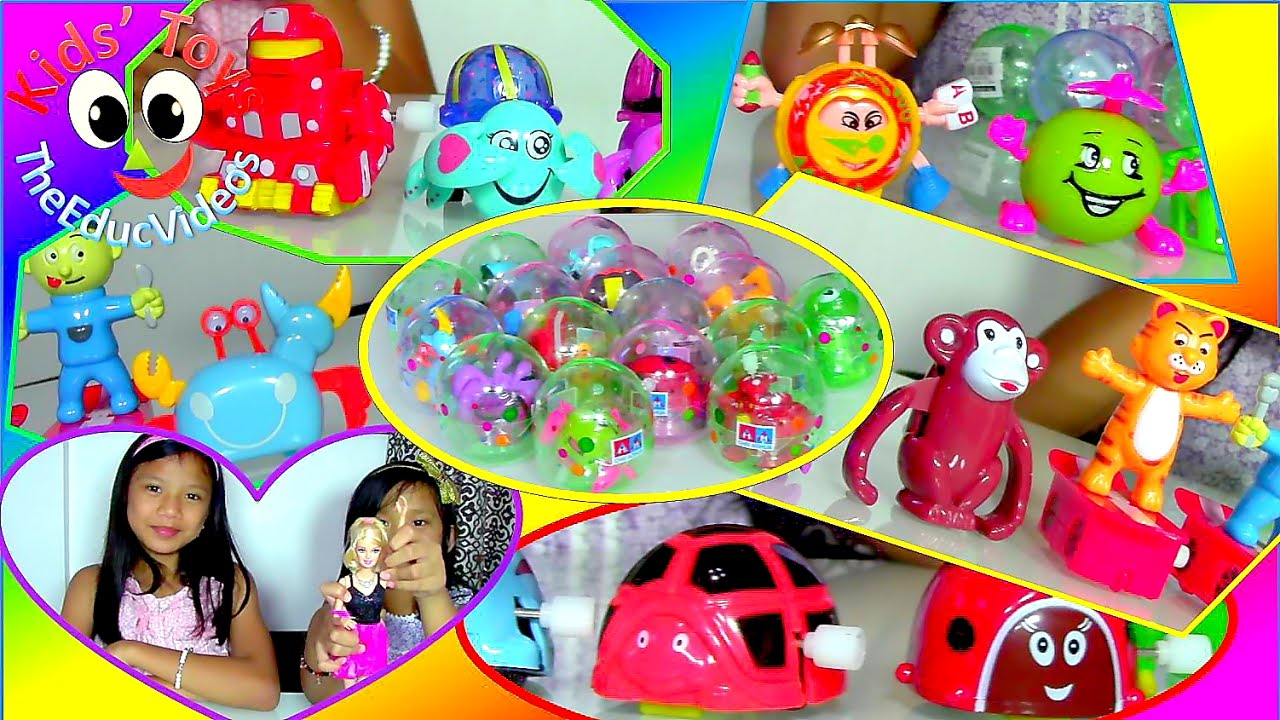 Toys For 9 And Up : Barbie doll and funny cool wind up toys surprise eggs