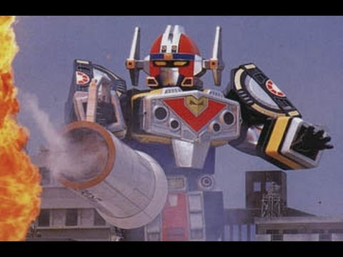 Power Rangers in Space: Mega Voyager - YouTube
