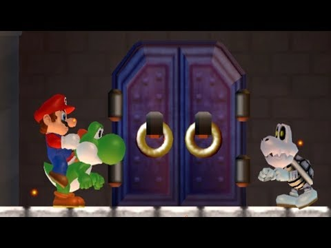 What happens when Yoshi enters the Castle?