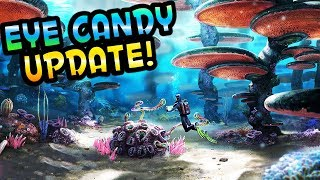 NEW UPDATE! EYE CANDY! - Subnautica Gameplay Part 7 - Huge Graphics Update!