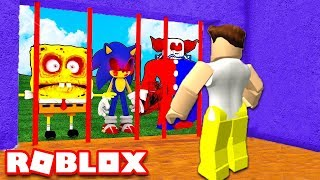 BUILD TO SURVIVE the MONSTERS in ROBLOX!! (Build and Survive)