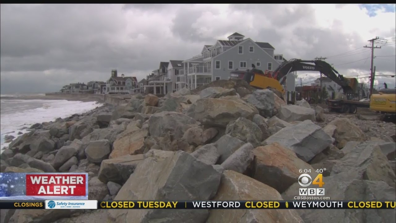 Coastal Communities Worried About Flooding During Next Nor'easter