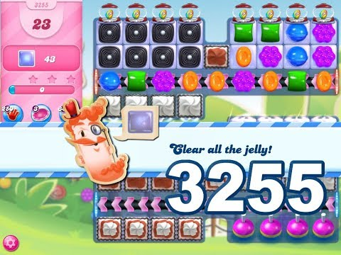 Candy Crush Saga Level 3255 (3 stars, No boosters)