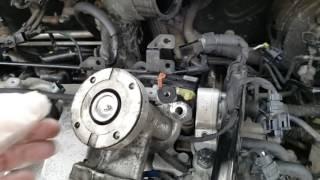 kia sportage egr valve removal and refitting