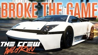 WE BROKE THE GAME!!! | The Crew Wild Run Gameplay w/ The Nobeds