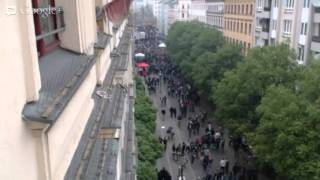 1. Mai Berlin 1st of May Live Stream 1 of 2 / Naunynstrasse, Kreuzberg