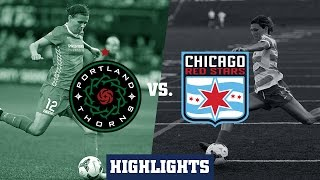 Portland Thorns FC vs Chicago Red Stars: Highlights - August 9, 2015