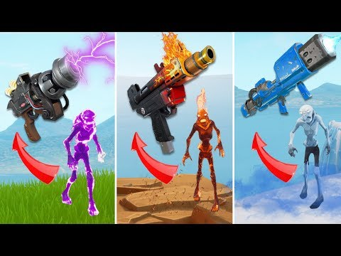 GET ELEMENTAL GUNS FROM ELEMENTAL ZOMBIES IN ICE STORM! Fortnite Funny Moments