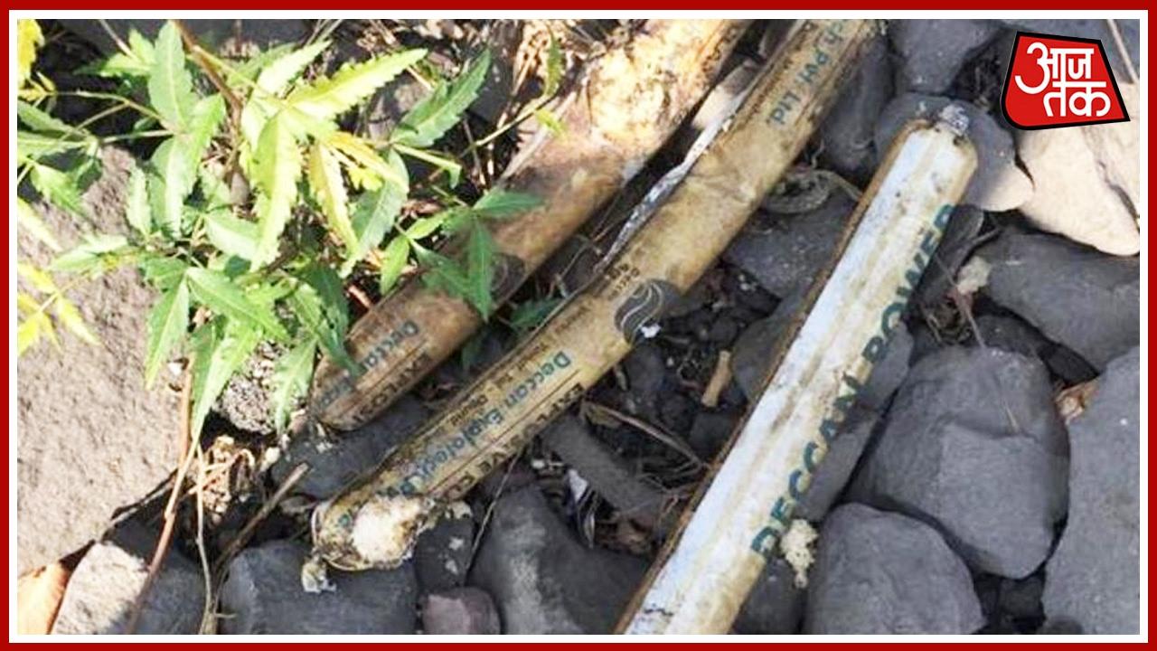 Download Aaj Subah: Gelatin Sticks Found On Railway Track Near Taloja