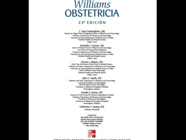 De williams pdf obstetricia