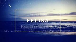 FELISA - Significado del Nombre Felisa ♥