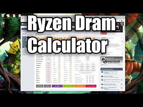 Ryzen Dram Calculator - YouTube