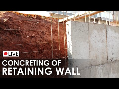 3D Animation of a Reinforced Concrete Retaining Wall Doovi
