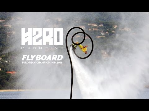 Flyboard European Champion Sonnie Bean