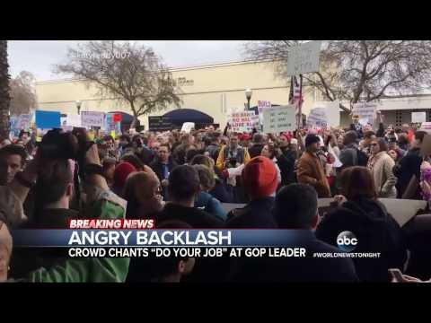 Education Secretary Betsy Devos Blocked From Entering DC School