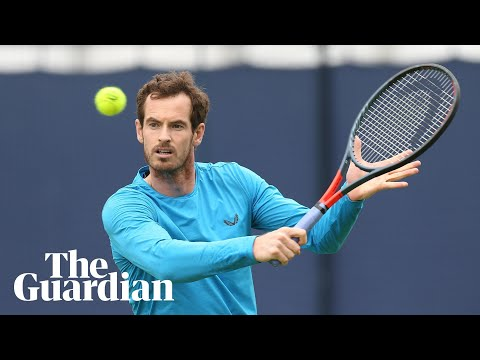 Andy Murray says he is back in love with tennis as he prepares for Queen's