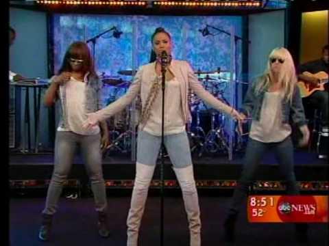 Ciara - Never Ever Live @ Good Morning America