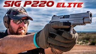 SIG SAUER P220 ELITE   .45acp TEST   Short Trigger Reset