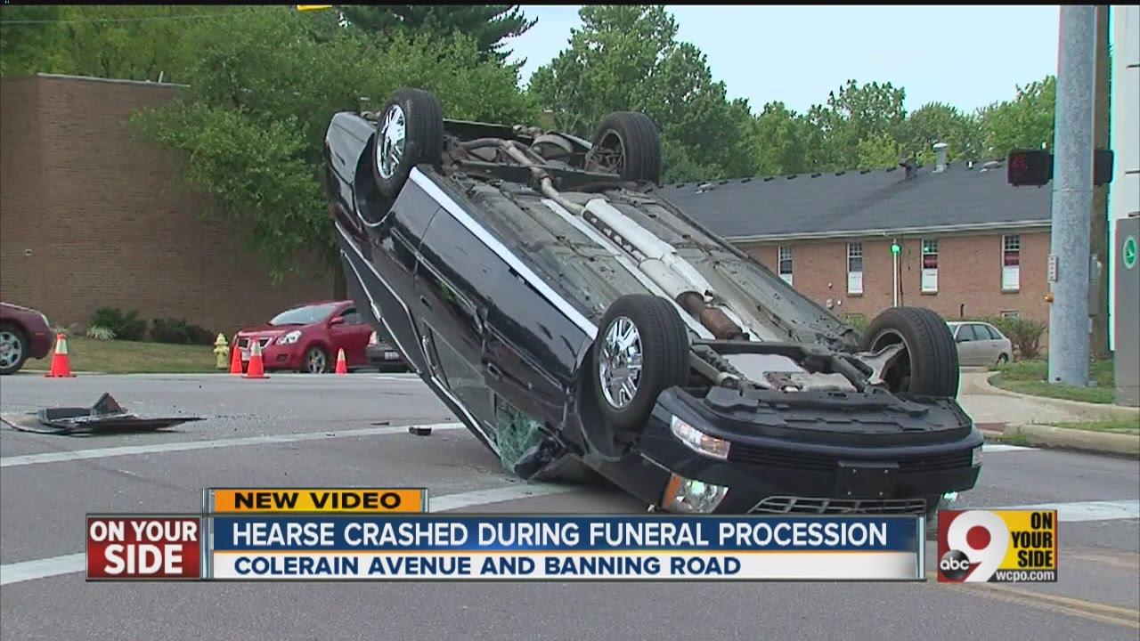 crash flips hearse upside down youtube. Black Bedroom Furniture Sets. Home Design Ideas
