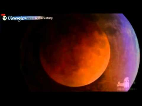 en vivo eclipse de luna 15 abril 2014 HD | in live
