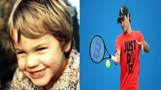 Roger Federer - from 1 to 35  years old
