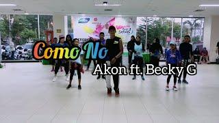 Download Akon - Como No ft. Becky G | ZUMBA | FITNESS | At Mall Gajah Mada Balikpapan Mp3 and Videos