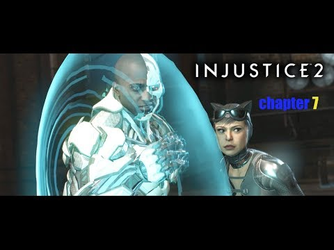 Who knew cats and cyborgs made a great team?- Hashtaggaming [injustice 2]
