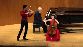 brahms vivace non troppo from concerto for violin and cello op 102
