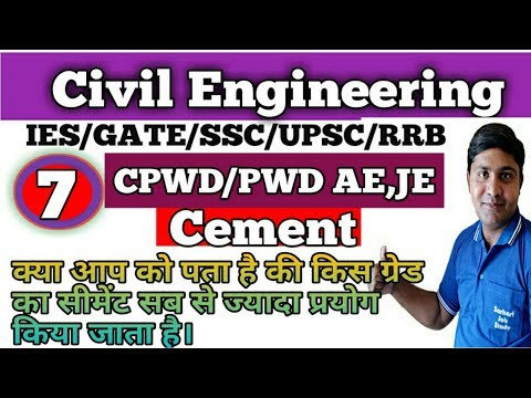 Civil Engineering | Grade of concrete used in construction | M5 M75 M10 M15 M20 Concrete mix ratio