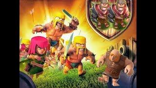 Clash of clan th7 anti everything - gaint lạc lối