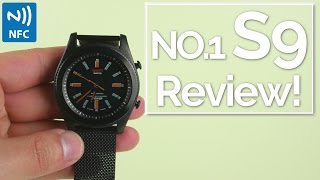 No.1 S9 Smartwatch Review: $36 and NFC!?!