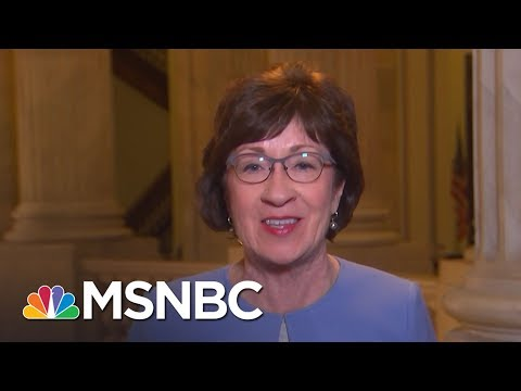 Sen. Susan Collins: Combining Health Care With Tax Bill Is Not A Good Idea | MTP Daily | MSNBC