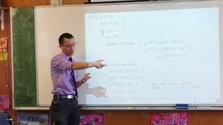 Mathematics Ext 1 Exam Questions (3 of 4: Parametrics of the parabola)