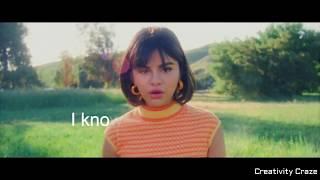 I'd go back to you || selena gomez | lyrics whatsapp status video