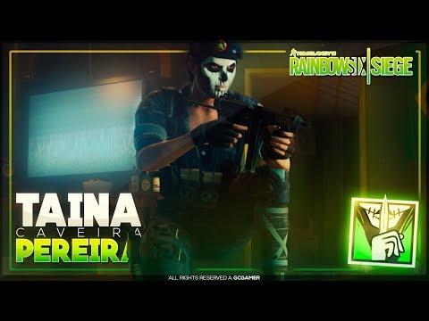 Conheça a História Completa da Taina Pereira (CAVEIRA) - Rainbow Six: Siege Operation History!!