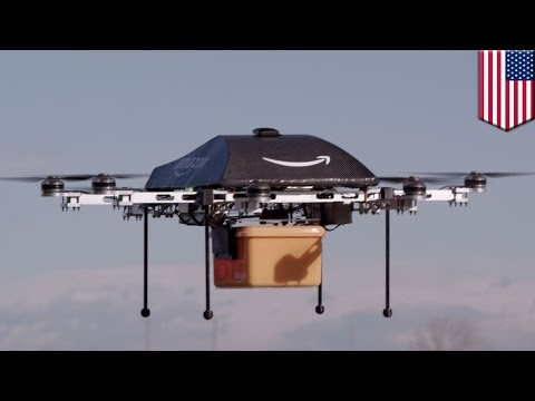 Amazon Prime delivery drones might be docking on lamp posts, power poles, cell towers – TomoNews