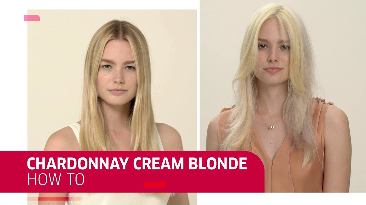 How To Chardonnay Cream Blonde Hair Color Wella Professionals