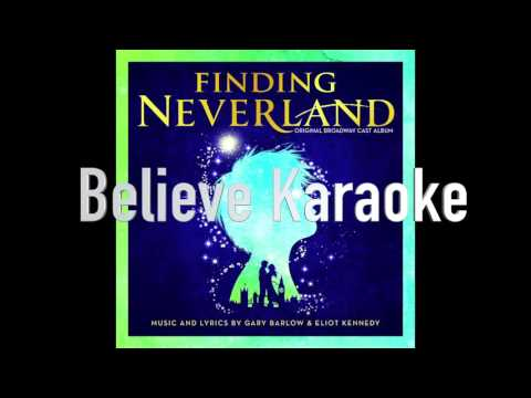 Believe Instrumental -  Finding Neverland