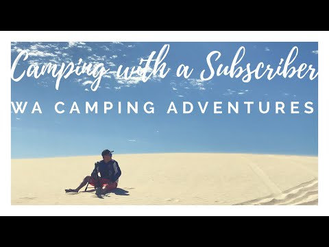 Coastal Beach Camping with a Subscriber - Sandy Cape 4X4 Camping Off Road Overland Adventure