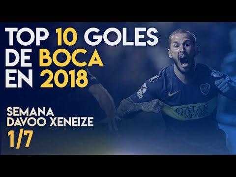 Los MEJORES GOLES de BOCA en 2018 (TOP 10)