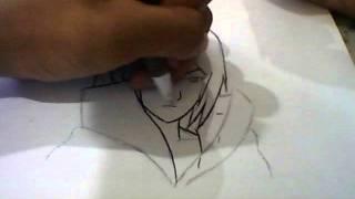 Draw Sasuke Akatsuki