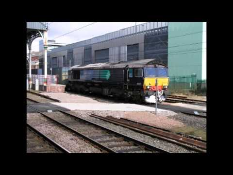Various Trains In Northern England 2012