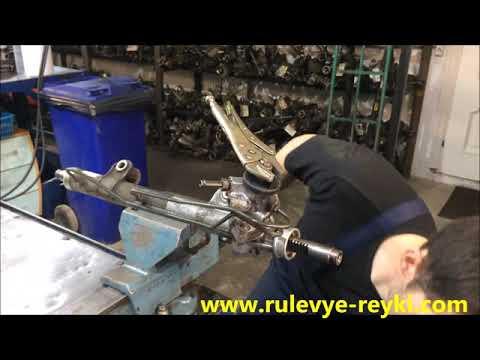 Ремонт рулевой рейки Nissan Primera P12
