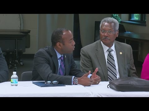 National NAACP Leader Meets With Community After Castile Shooting