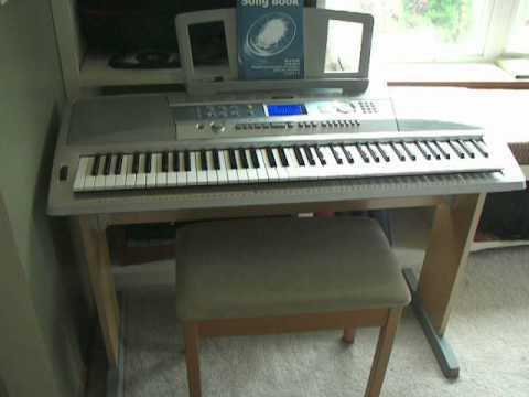 Yamaha dgx 200 portable grand electronic keyboard 1 of 2 for Yamaha dgx 200 portable grand keyboard