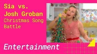 Sia vs. Josh Groban (BEST CHRISTMAS SONG BATTLE)