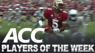 Players of the Week | Week 3 | ACCDigitalNetwork